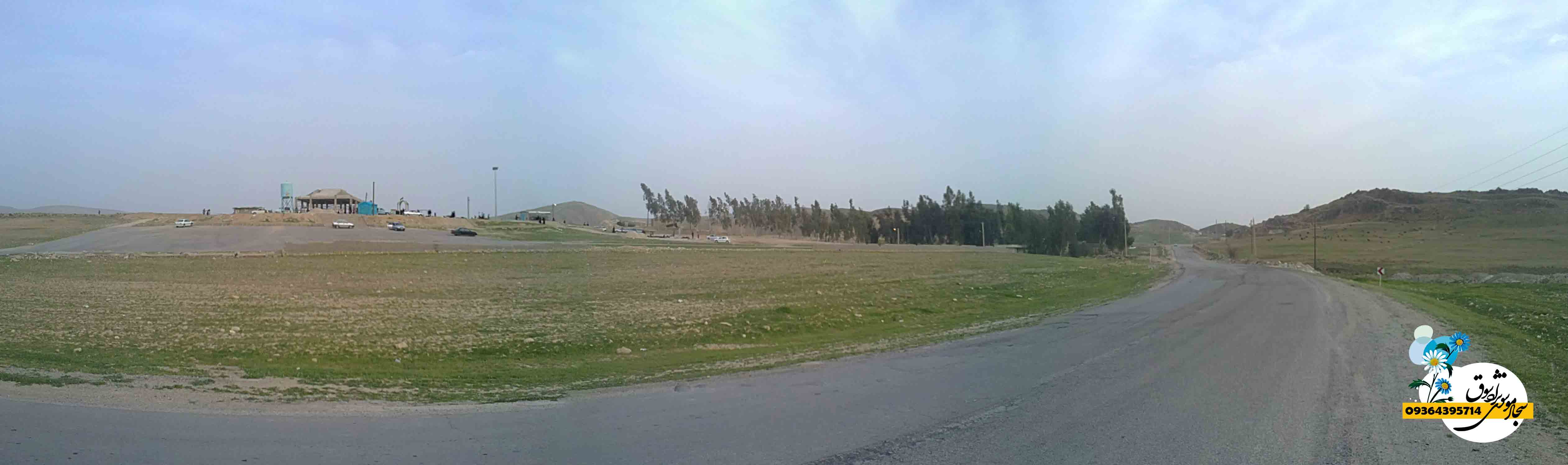 قبرستان شهر سوق ، جاده سوق- لنده